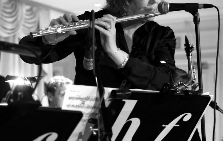 Gilly Burgoyne on flute